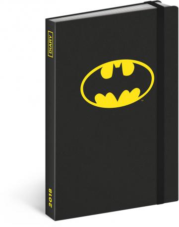 Týdenní diář Batman 2018, 10,5 x 15,8 cm