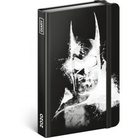 Týdenní diář Batman 2020, 11 × 16 cm