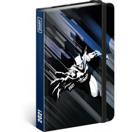Týdenní diář Batman 2021, 11 × 16 cm