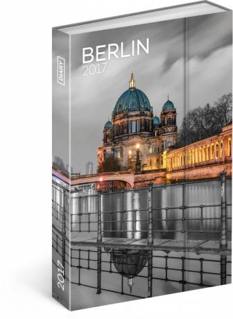 Týdenní diář Berlín 2017, 10,5 x 15,8 cm
