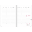 Weekly diary Cambio Classic white 2020, 15 × 21 cm