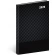 Týdenní diář Cambio Classic 2020, černý, 15 × 21 cm