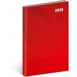 Týdenní diář Cambio Classic 2020, červený, 15 × 21 cm