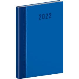 Týdenní diář Cambio Classic 2022, modrý, 15 × 21 cm