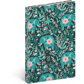 Weekly diary Cambio Fun 2020, elephant 15 × 21 cm