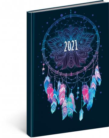 Týdenní diář Cambio Fun 2021, Lapač snů, 15 × 21 cm