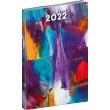 Týdenní diář Cambio Fun 2022, Malba, 15 × 21 cm