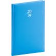 Týdenní diář Capys 2019, modrý, 15 x 21 cm