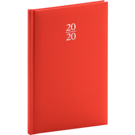 Weekly diary Capys red 2020, 15 × 21 cm