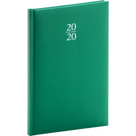 Weekly diary Capys green 2020, 15 × 21 cm