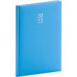 Týdenní diář Capys 2022, světle modrý, 15 × 21 cm