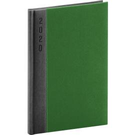 Weekly diary Dakar gray-green 2020, 15 × 21 cm