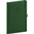 Weekly diary Diamante green 2021, 15 × 21 cm