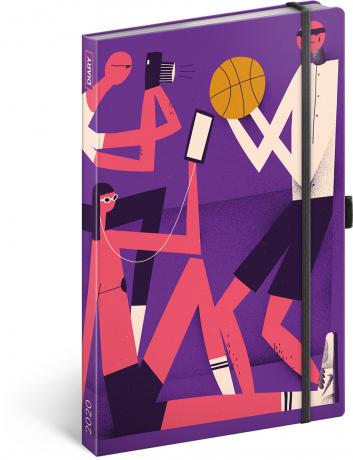 Týdenní diář Dominik Miklušák 2020, 13 × 21 cm