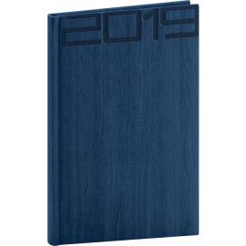Týdenní diář Forest 2019, modrý, 15 x 21 cm
