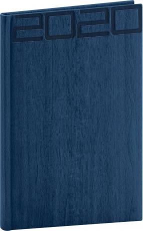 Týdenní diář Forest 2020, modrý, 15 × 21 cm