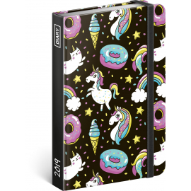 Weekly diary Unicorn 10,5 x 15,8 cm