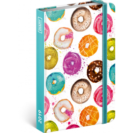 Weekly diary Donuts 2019, 10,5 x 15,8 cm