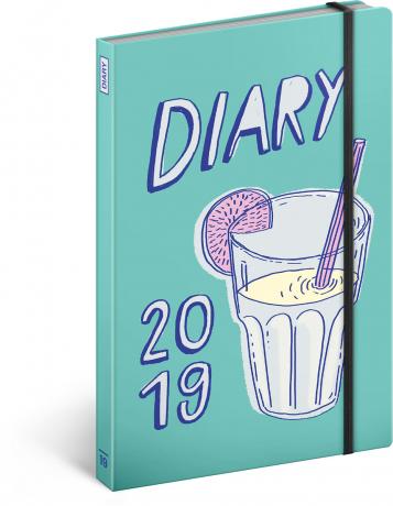 Týdenní diář Koktejl – Studio Tabletters 2019, 13 x 21 cm