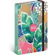 Weekly diary Leaves 2021, 11 × 16 cm