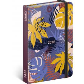Weekly diary Leaves 2022, 11 × 16 cm