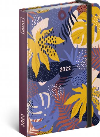 Týdenní diář Listy 2022, 11 × 16 cm