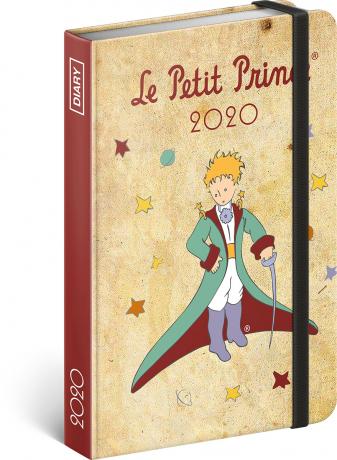 Týdenní diář Malý princ – Princ 2020, 11 × 16 cm