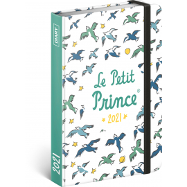 Weekly diary Le Petit Prince – Birds 2021, 11 × 16 cm