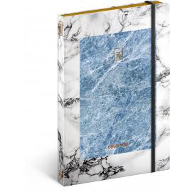 Týdenní diář Marble 2019, 13 x 21 cm