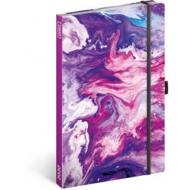Týdenní diář Marble 2020, 13 × 21 cm