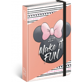 Weekly diary Minnie 2021, 11 × 16 cm
