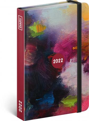 Týdenní diář Painting 2022, 11 × 16 cm