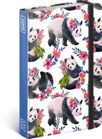 Týdenní diář Pandy 2020, 11 × 16 cm