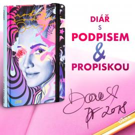 Týdenní diář Rok podle Dary CZ 2018 s podpisem, 13 x 21 cm