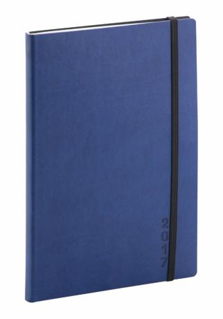 Týdenní diář Soft 2017, modročerný, 15 x 21 cm, A5