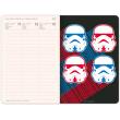 Týdenní diář Star Wars 2019, 10,5 x 15,8 cm