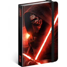 Weekly diary Kylo Ren 2019, 10,5 x 15,8 cm