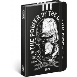 Weekly diary Star Wars – Kylo Ren 2021, 11 × 16 cm