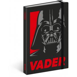 Týdenní diář Star Wars – Vader 2018, 10,5 x 15,8 cm