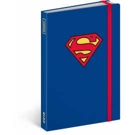 Weekly diary Superman 2018, 10,5 x 15,8 cm
