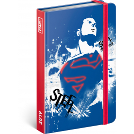 Weekly diary Superman 2019, 10,5 x 15,8 cm