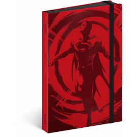 Týdenní diář Superman – Fly 2017, 10,5 x 15,8 cm
