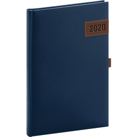 Weekly diary Tarbes blue 2020, 15 × 21 cm