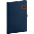 Týdenní diář Tarbes 2022, modrý, 15 × 21 cm