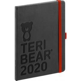 Týdenní diář Teribear 2020, 15 × 21 cm