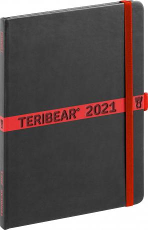 Týdenní diář Teribear 2021, 15 × 21 cm