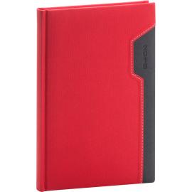 Weekly diary Thun red-black 2019, 15 x 21 cm