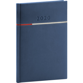 Weekly diary Tomy blue-red 2020 15 x 21 cm