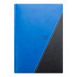 Týdenní diář Triangl 2017, černomodrý, 15 x 21 cm, A5