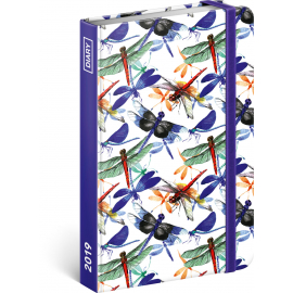Weekly diary Dragonfly 2019, 10,5 x 15,8 cm